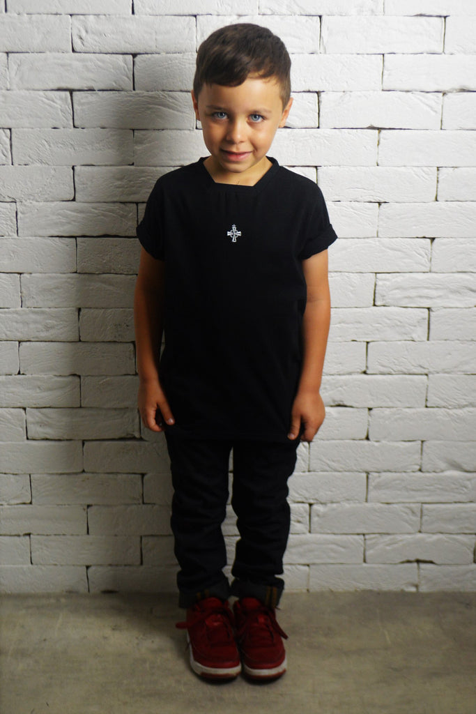 Alex Christopher Kids Square Neck T-Shirt