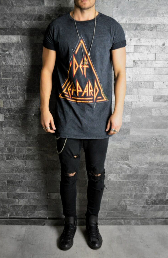 Def Leppard Rock T-Shirt | Mens Rock T-Shirts | ETTO Boutique