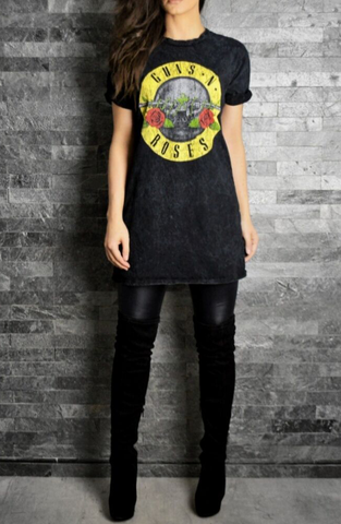 Guns N Roses Rock T-Shirt | Women's Rock T-Shirts | ETTO Boutique