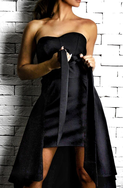 Black Milano Dress | Wedding Guest Dresses | ETTO Boutique