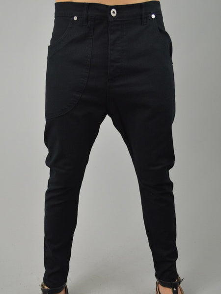 Black Skinny Jeans | Mens Jeans | Drop Crotch Jeans | ETTO Boutique