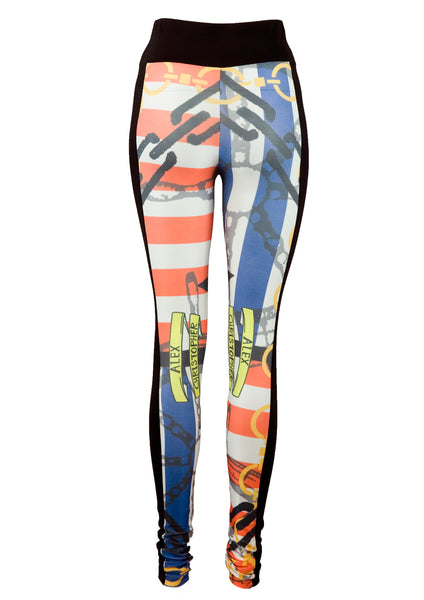 Sublimation Leggings - Nautical