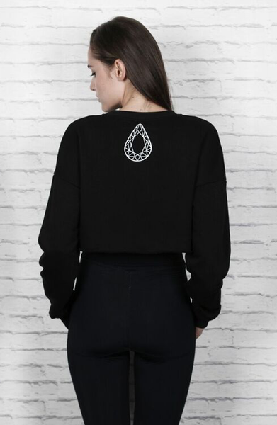 Total Black Condense Sweatshirt