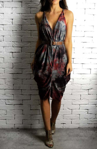 Alex Christopher Athena Dress - Tie Dye