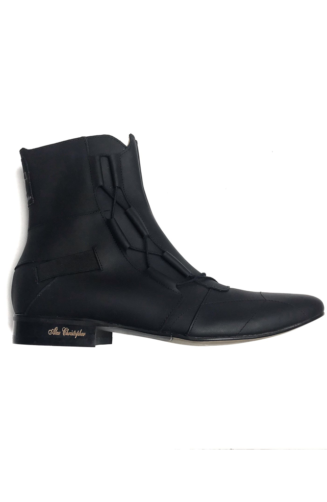 Porter Boots - Black Leather