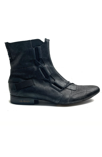 Porter Boot - Black Suede