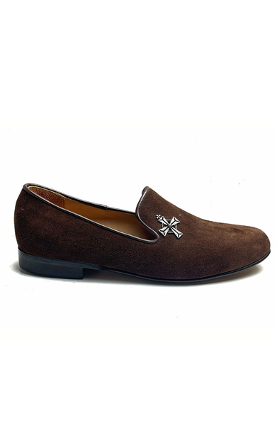 AC Suede Brown Loafers