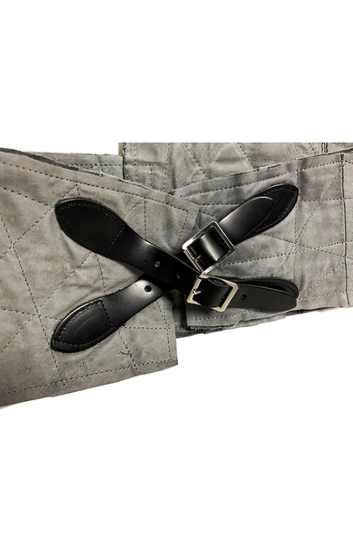 AC Buckle Belt - Grey