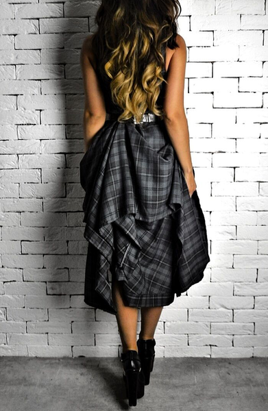 Charcoal Hitched Raven Dress | Dresses for the races | ETTO Boutique