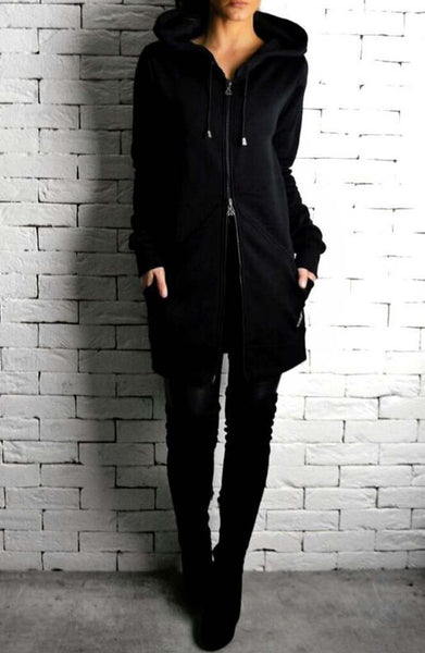 Alex Christopher Directional Long Hoodie