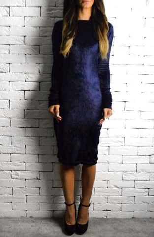 Midnight Velvet Eve Dress | Dresses for the Races | ETTO Boutique