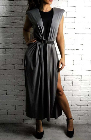 Alex Christopher Maxi V Dress - Women's Dresses