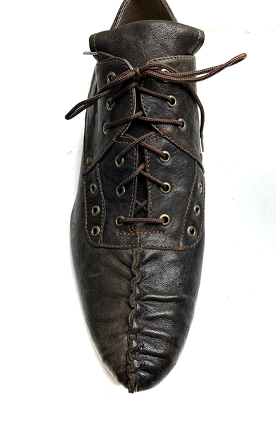 Pastie Shoe - Brown Leather