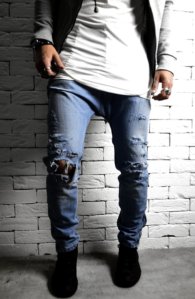 Alex Christopher Ripped Skater Skinny Jeans | Skinny Jeans | ETTO Boutique