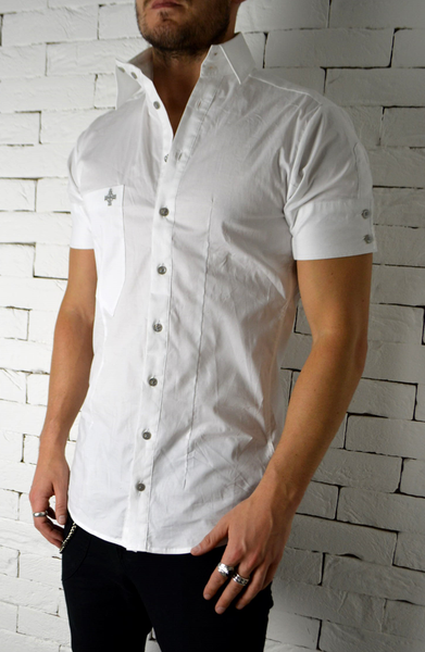 Alex Christopher Side Button Shirt | Mens Shirts | Smart Shirts | ETTO Boutique