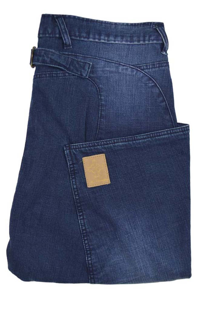 Side Pocket Jean - Blue Denim