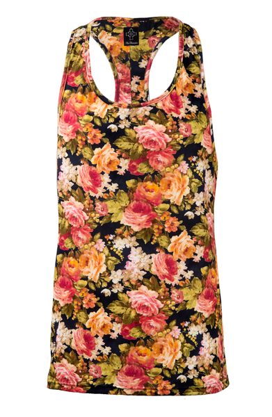 Sketch Logo Ibiza Vest - Antique Floral