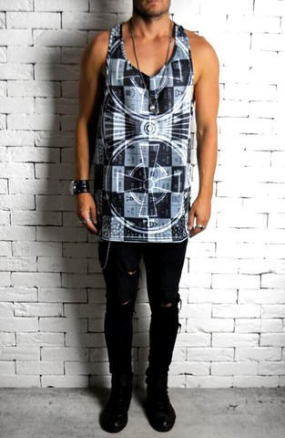 alex christopher sublimation racer back