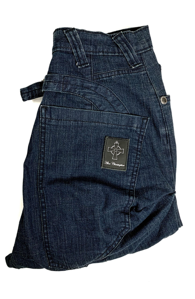 Original Drop Crotch Jeans - Washed Denim