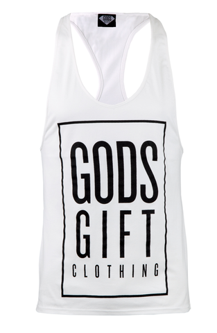 Gods Gift Billboard Racer Back Gym Vest | Gym Clothing | ETTO Boutique