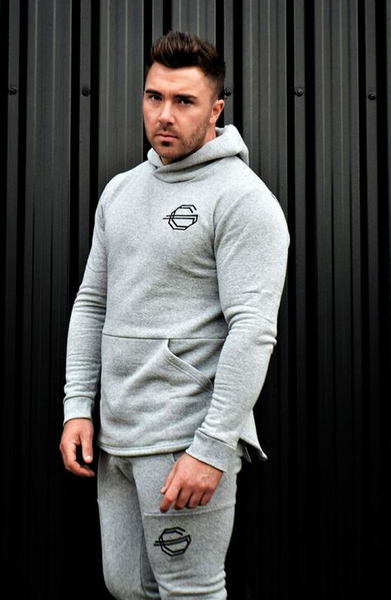 Gods Gift Pullover Hoodie - Grey