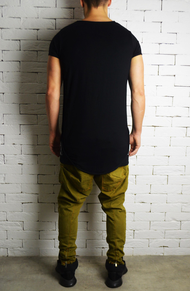 Original Drop Crotch Jeans - Khaki
