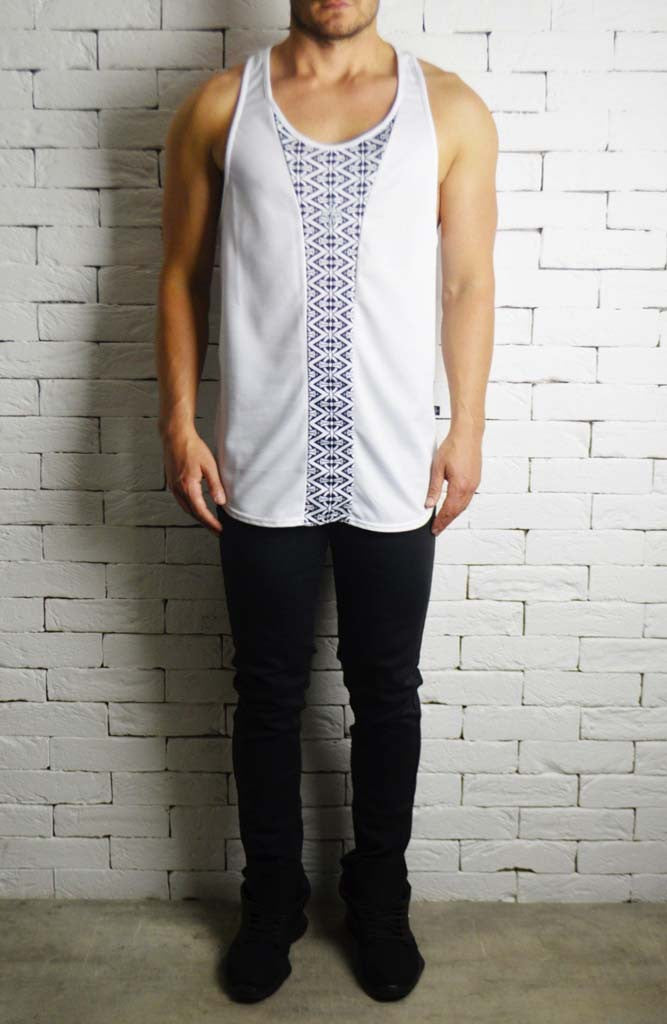 Alex Christopher Kaleidoscope Ibiza Vest | Mens Vests | ETTO Boutique