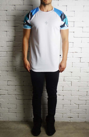 Directional Basketball Raglan Sleeve T-Shirt