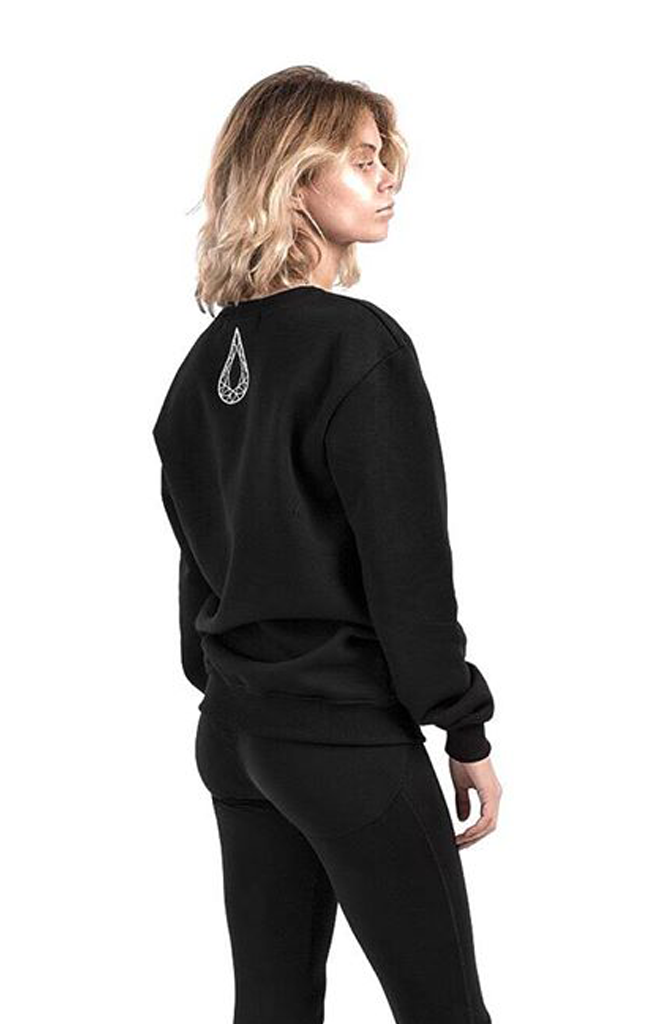 Total Black Raven Sweatshirt