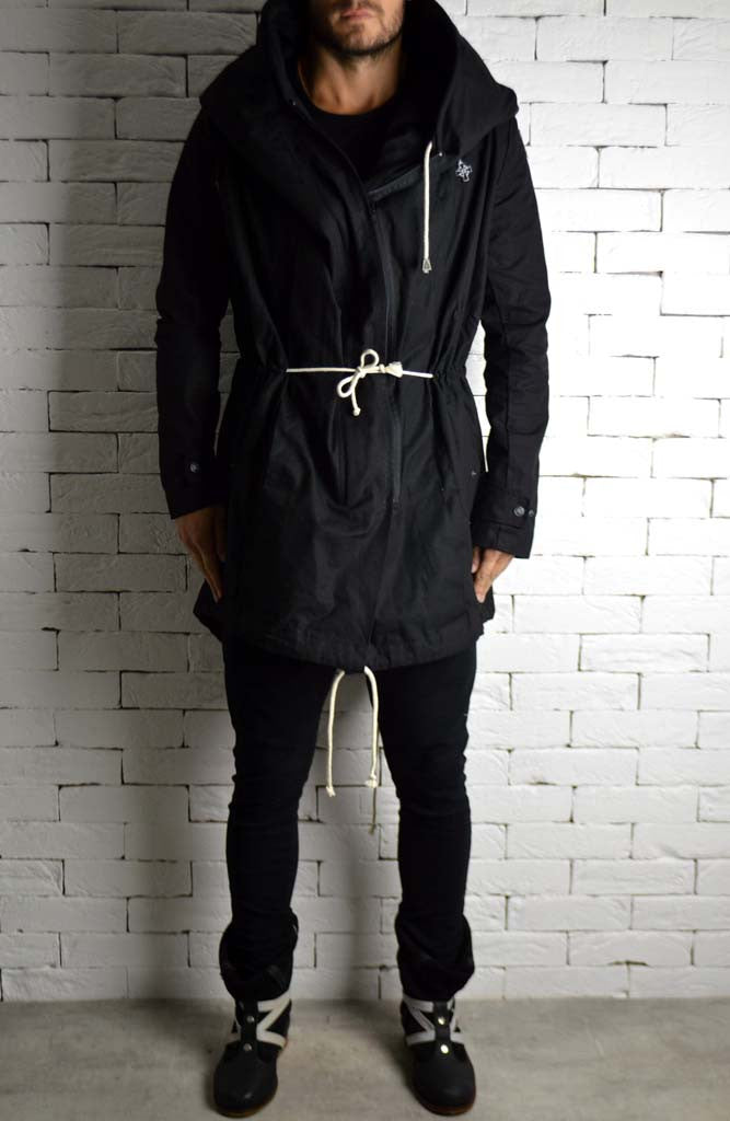 Black Trench Coat | Mens Trench Coats | ETTO Boutique