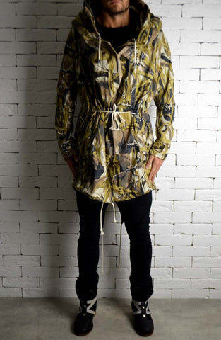 Trench Coat - Forest