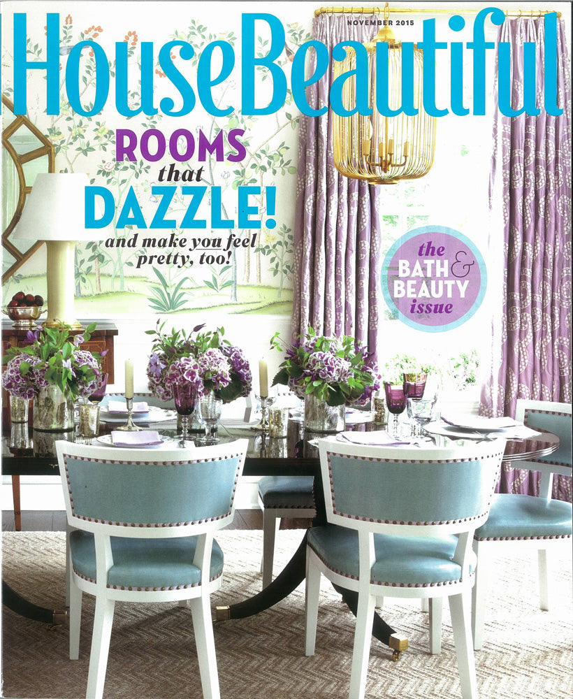 House Beautiful November 2015 - Ashley Whittaker - Stratum sisal