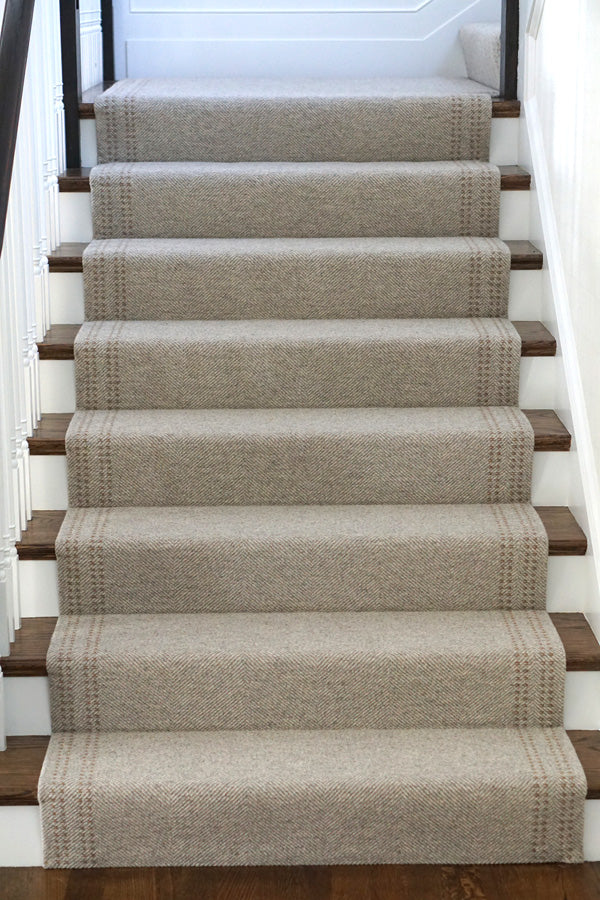 5 Ways To Style A Staircase With Wool Rugs Merida