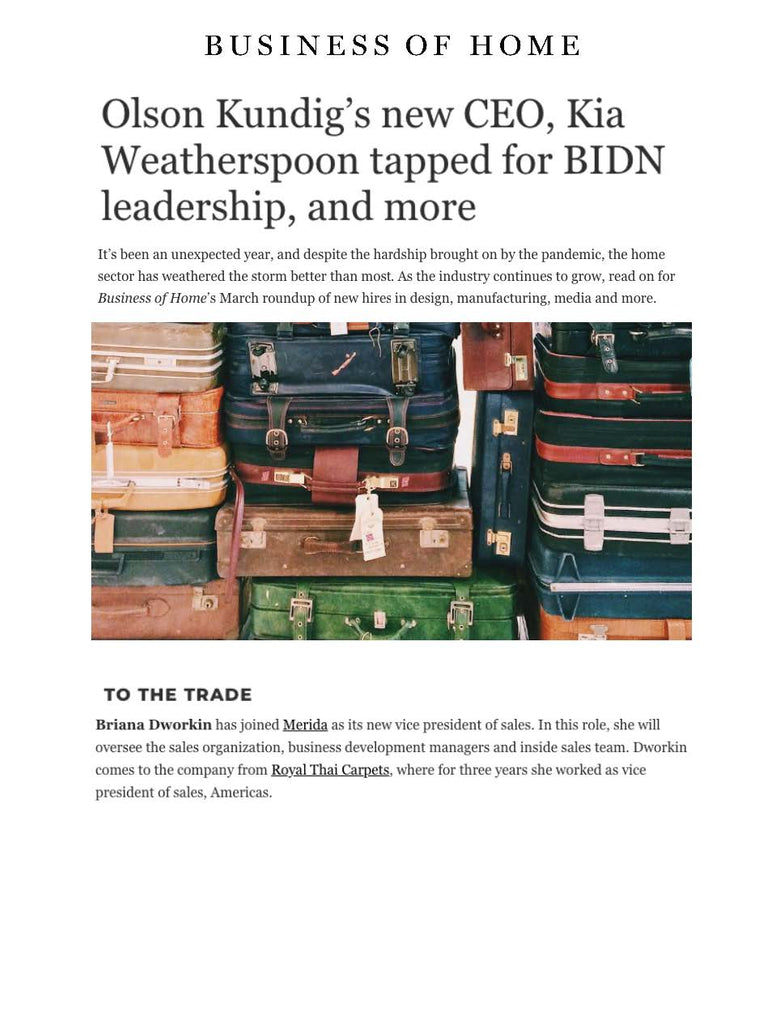 https://businessofhome.com/articles/olson-kundig-s-new-ceo-kia-weatherspoon-tapped-for-bidn-leadership-and-more