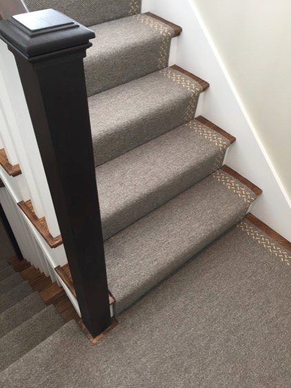 With Jacquard Woven Wool Rugs, Custom Details Such As An Asymmetrical  Design Can Set A Stair Runner Apart. Tailoring A Runner For A Specific  Space Can Take ...