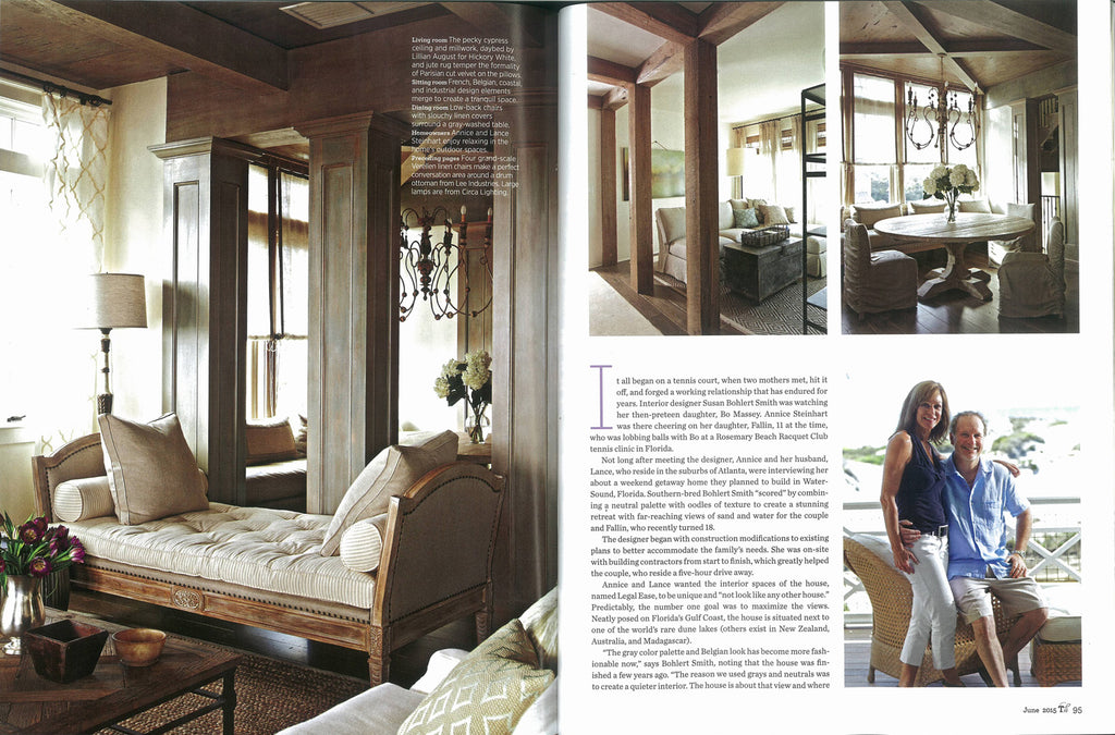 Traditional Home June 2015 - Susan Bohlert Smith - Merida Bora Bora and Broadway