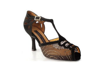 Grisa. Arika Nerguiz Tango Dance Shoes. Broadway Theatrical Shoes.