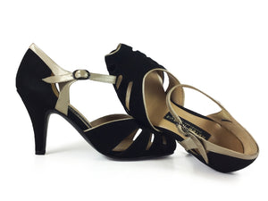 Ilusion. Arika Nerguiz Tango Dance Shoes. Broadway Theatrical Shoes.