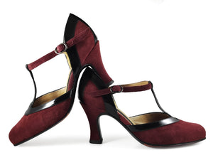 Malena. Arika Nerguiz Tango Dance Shoes. Broadway Theatrical Shoes.