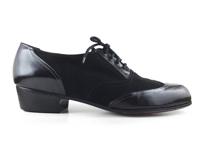 Muchacho. Arika Nerguiz Men Tango Dance Shoes. Broadway Theatrical Shoes.