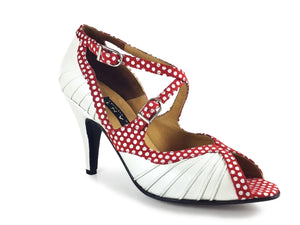 Chryseis. Arika Nerguiz Tango Dance Shoes. Broadway Theatrical Shoes.
