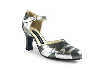 Rosedal. Arika Nerguiz Tango Dance Shoes. Broadway Theatrical Shoes.