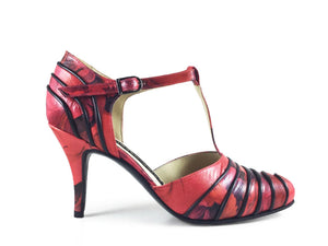 Bohemia. Arika Nerguiz Tango Dance Shoes. Broadway Theatrical Shoes.