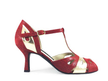 Aline. Arika Nerguiz Tango Dance Shoes. Broadway Theatrical Shoes.