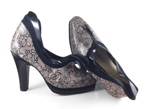 Cisne. Arika Nerguiz Tango Dance Shoes. Broadway Theatrical Shoes.