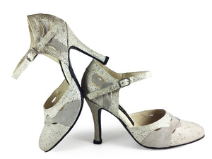 La Mar. Arika Nerguiz Tango Dance Shoes. Broadway Theatrical Shoes.