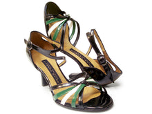 Lucila. Arika Nerguiz Dance Sandal Shoes. Broadway Theatrical Shoes.