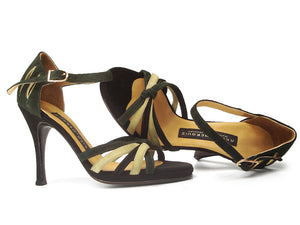 Lu-Lu. Arika Nerguiz Dance Sandal Shoes. Broadway Theatrical Shoes.