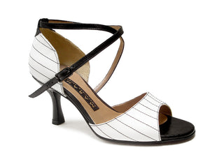 Ilara. Arika Nerguiz Tango Dance Sandal Shoes. Broadway Theatrical Shoes.