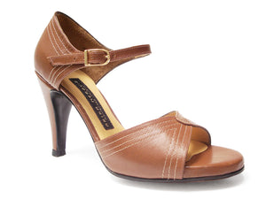 Selma. Arika Nerguiz Tango Dance Sandal Shoes. Broadway Theatrical Shoes.